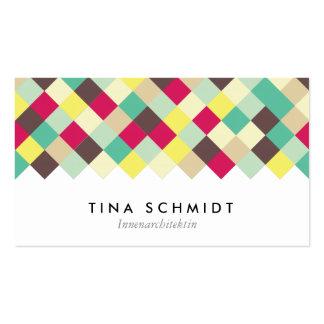 Tauchen Sie ein in Farbe Visitenkarten Carte De Visite Standard
