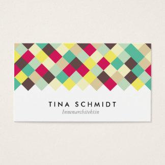 Tauchen Sie ein in Farbe Visitenkarten Cartes De Visite