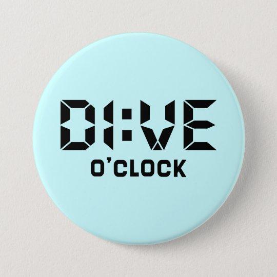 Tauchen-Uhr Runder Button 7,6 Cm