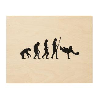 Tauchenfang-Evolution Holzdruck