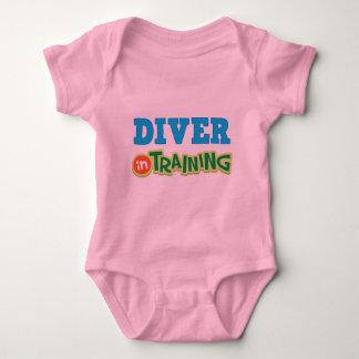 Taucher im Training (Zukunft) Baby Strampler