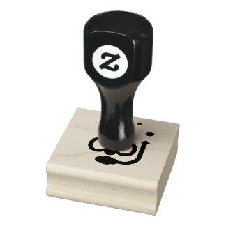 Tauchikonen-Briefmarke Gummistempel