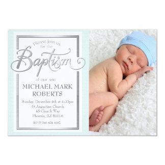 Taufe-Einladung, Taufe laden ein, taufen 12,7 X 17,8 Cm Einladungskarte
