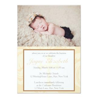 Taufe-Segen-Taufeinladung - Rosa 12,7 X 17,8 Cm Einladungskarte