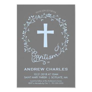Taufe, Taufeinladung - Baby laden ein 8,9 X 12,7 Cm Einladungskarte