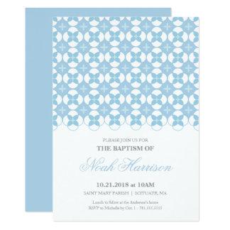 Taufe, Taufeinladung - Junge laden ein Karte