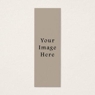 Taupe-neutrale FarbTrend-Raum-Schablone Mini Visitenkarte
