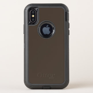 Taupe OtterBox Defender iPhone X Hülle