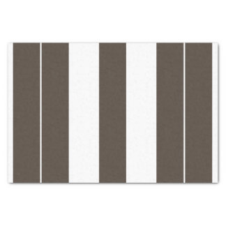 Taupe-und weißesgestreiftes 10lb Seidenpapier