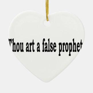 Tausend-Kunst ein falscher Prophet Keramik Ornament