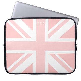 Tausendjähriger rosa Gewerkschafts-Jack-BRITISCHE Laptop Sleeve