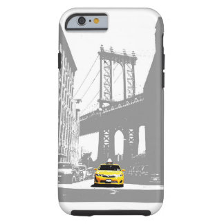 Taxi-Pop-Kunst New York City Nyc gelbe Tough iPhone 6 Hülle