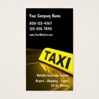 Taxi-Visitenkarten Visitenkarten