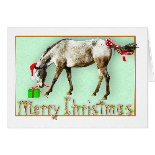 Tayos Weihnachtspaket Grußkarte