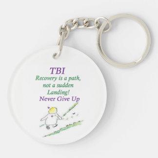 TBI u. Schwindel-Schlüsselring Schlüsselanhänger