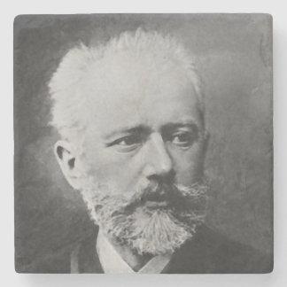 Tchaikovsky Foto-Porträt Steinuntersetzer