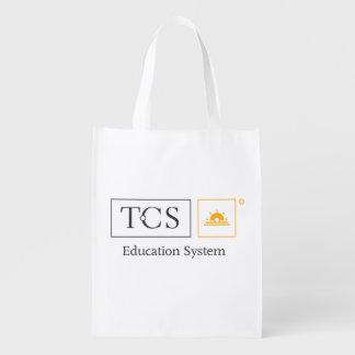 Tcs-Bildungs-Systems-wiederverwendbare Wiederverwendbare Einkaufstasche
