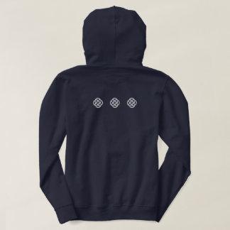 TCSPP schwarzes mit Kapuze Sweatshirt