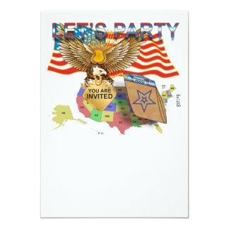 Tea-Party-Version-1 12,7 X 17,8 Cm Einladungskarte