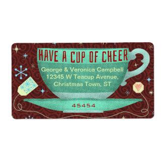 Teacup-Feiertags-Beifall-Weihnachtsjahreszeit