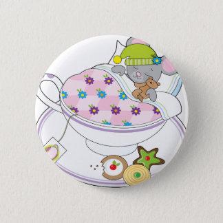 Teacup-Maus Runder Button 5,1 Cm