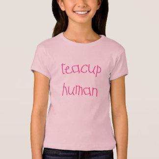 Teacup-Mensch (Rosa) T-Shirt