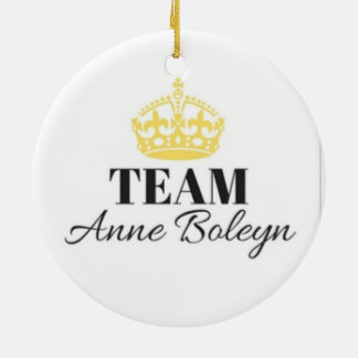 Team-Anne- Boleynverzierung Keramik Ornament