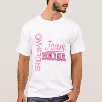 Team-Braut 1 JÜNGER-JR.-BRAUTJUNGFER T-Shirt
