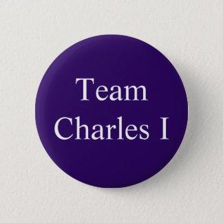 Team Charles I Runder Button 5,7 Cm