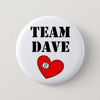Team-Dave-Knopf 2 Runder Button 5,1 Cm