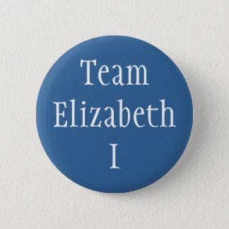 Team Elizabeth I Runder Button 5,1 Cm