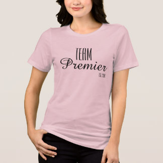 Team-erster T-Shirt- Soft Relaxedfit Rosa T-Shirt