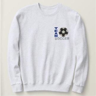Team-Fußball Besticktes Sweatshirt