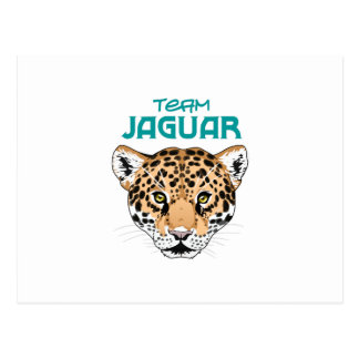 TEAM JAGUAR POSTKARTE
