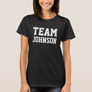 TEAM Johnson personifizieren es T-Shirt