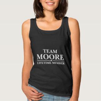 Team-Moore-Lebenszeit-Mitglied Tank Top