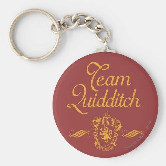 Team QUIDDITCH™ Harry Potters | Standard Runder Schlüsselanhänger