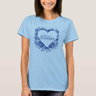 Team sookie (blaues Herz) T-Shirt