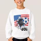 Team USA-Fußball Sweatshirt