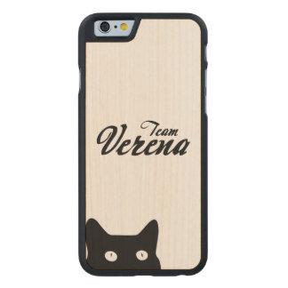 Team Verena iPhone Case Carved® iPhone 6 Hülle Ahorn