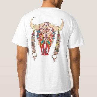 Teamapache-Bisonweiß T-Shirt