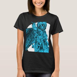 #Teamb3ar - Schlachtfeld-Bärn-Blau T-Shirt