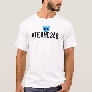 #teamb3ar Shirt-Blau T-Shirt