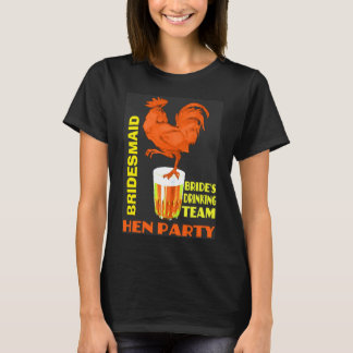 Teambraut, Henne-Party T-Shirt