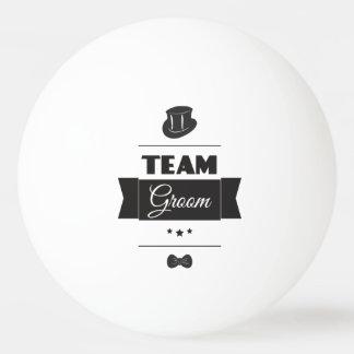 Teambräutigam Tischtennis Ball