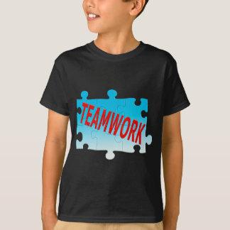 Teamwork-Puzzle T-Shirt