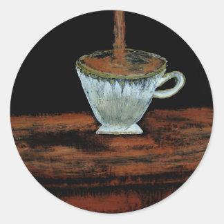 Teatime Runder Sticker