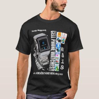 tech-StützT - Shirt Telefon der Uhr w818