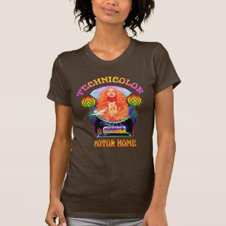 Technicolor-BewegungsZuhause-Band-Damen-Petite T - T-Shirt