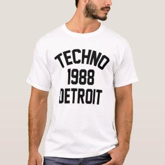 Techno 1988 Detroit T-Shirt